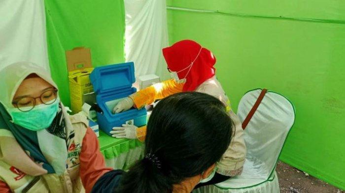 Vaksinasi Tahap Dua di Pemalang Mulai Sasar Pedagang Pasar