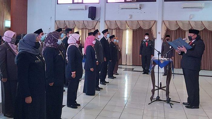 Wali Kota Tegal Lantik 16 Pejabat Fungsional