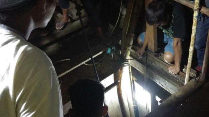 Belasan Pekerja Tertimbun di Lubang Tambang Emas Sedalam 42 Meter