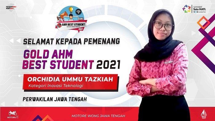 Pelajar SMA Sukses Banggakan Jateng dalam AHM Best Student 2021 Tingkat Nasional