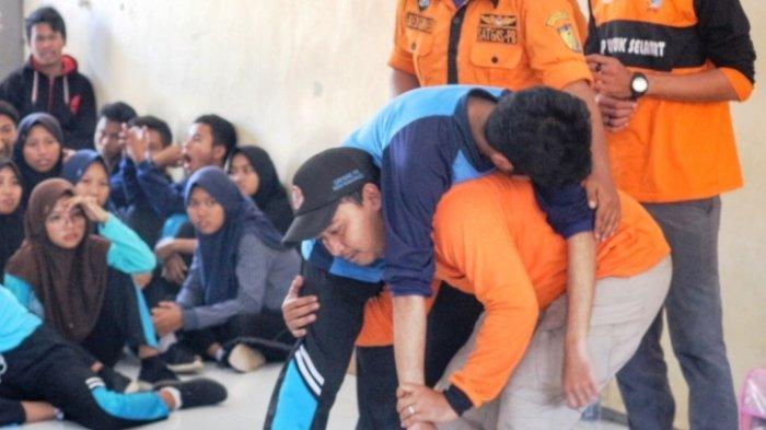 Sejumlah Sekolah Rawan Banjir Rob, BPBD Kota Pekalongan Sosialisasikan MitigasiKebencanaan