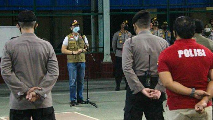 Patroli Gerakan Jateng di Rumah Saja, Plt Bupati Kudus Hartopo: Bubarkan Kerumunan!