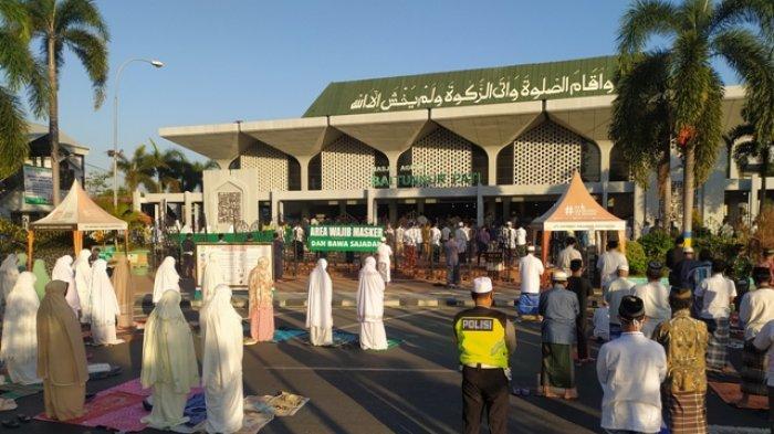 Durasi Khotbah Salat Idulfitri di Masjid Agung Baitunnur Pati Dibatasi Maksimal 15 Menit