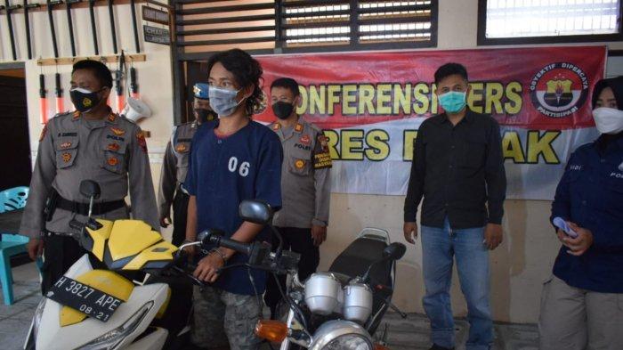 Fahmi Demak Pencuri Motor Ancam Bocil Dorong Motor Curian: Pelaku Dalam Kondisi Mabuk