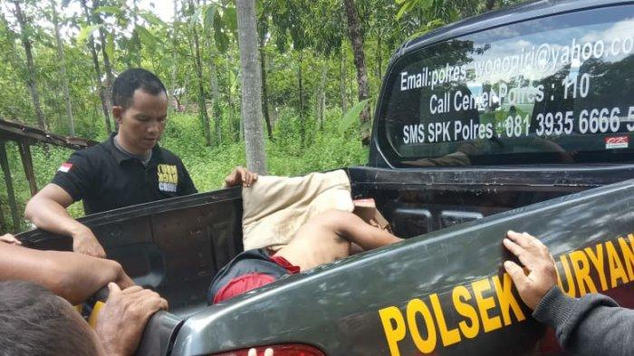 Di Depan Warga dan Polisi, Pria di Wonogiri Ini Pukul Kepala Ibu Kandungnya Pakai Batu Hingga Tewas
