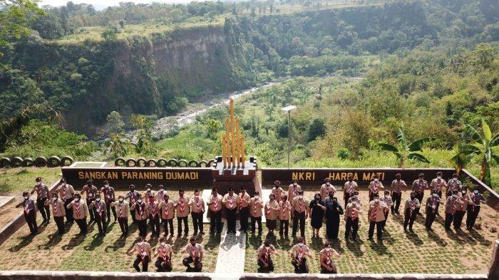 Saka Bahari Jateng Ikuti Pelantara ke-10 TNI AL di Kalibakung Tegal