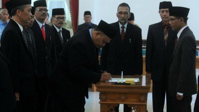 Wakil Bupati Boyolali Segarkan serta Lantik Komisaris dan DireksiDua BUMD