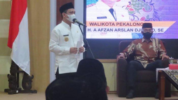 Lantik 42 Pejabat Administrator, Wali Kota Aaf Minta Tingkatkan Etos Kerja dan Pelayanan Prima