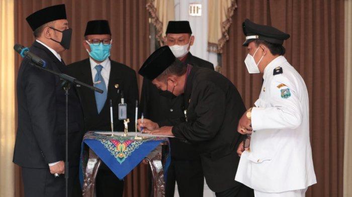 Wali Kota Tegal Lantik 53 Pejabat Tinggi Pratama dan Pejabat Administrasi
