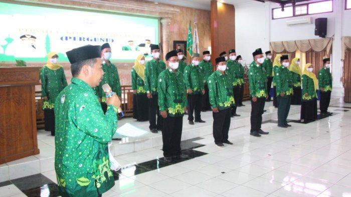 Hadiri Pelantikan Pergunu Tegal, Wali Kota Dedy Yon Harap Segera Konsolidasi