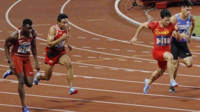 Jadwal dan Link Live Streaming Lalu Muhammad Zohri di Olimpiade Tokyo 2021