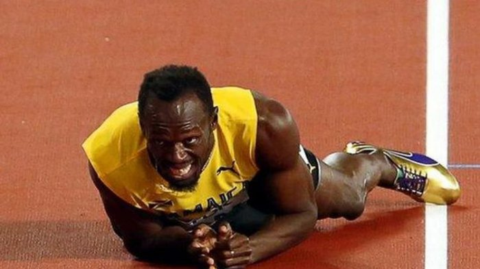 Manusia Tercepat di Dunia Usain Bolt Positif Terkena Virus Corona Covid-19