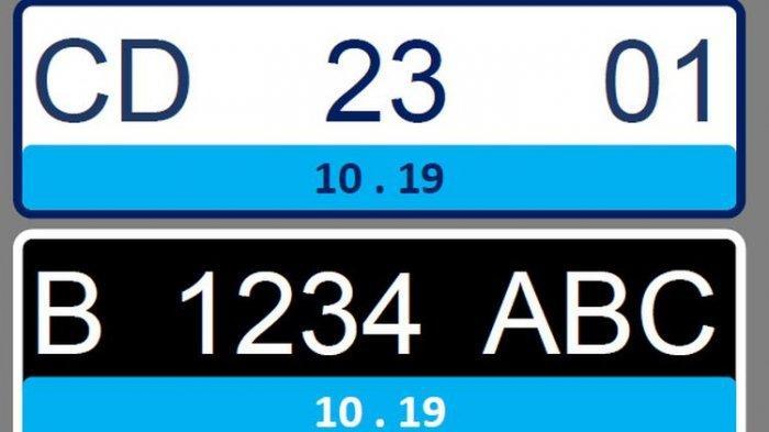Yuk Kenali 4 Warna Pelat Nomor Kendaraan Baru di Indonesia, Ini Fungsi dan Peruntukannya!