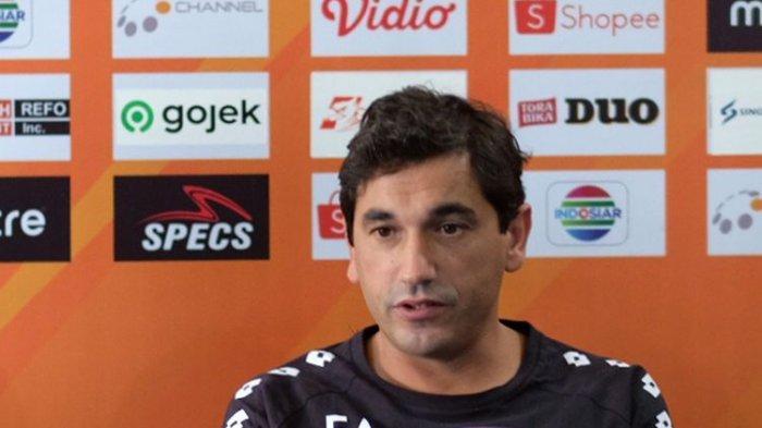 Dikalahkan PSS Selaman, Pelatih Arema FC Eduardo Almeida: Saya yang Bertanggung Jawab