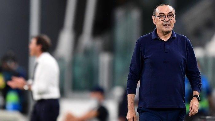 Lazio Kalah dari Galatasaray di Europa League, Sarri Bawa-bawa AC Milan di Jumpa Pers