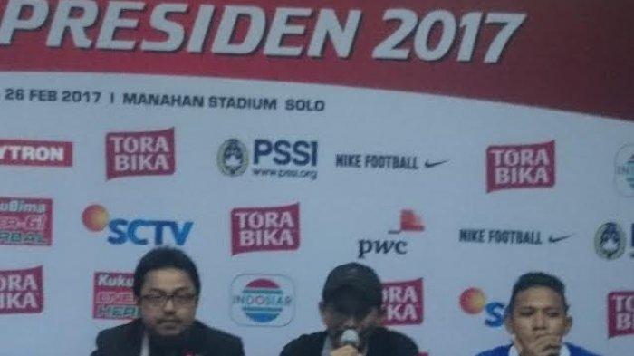 Pelatih Mitra Kukar Ragukan Gol Ketiga Persib Bandung