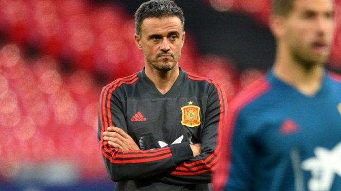 Timnas Spanyol Dihajar Covid-19 Jelang Euro 2020, Begini Kata Luis Enrique