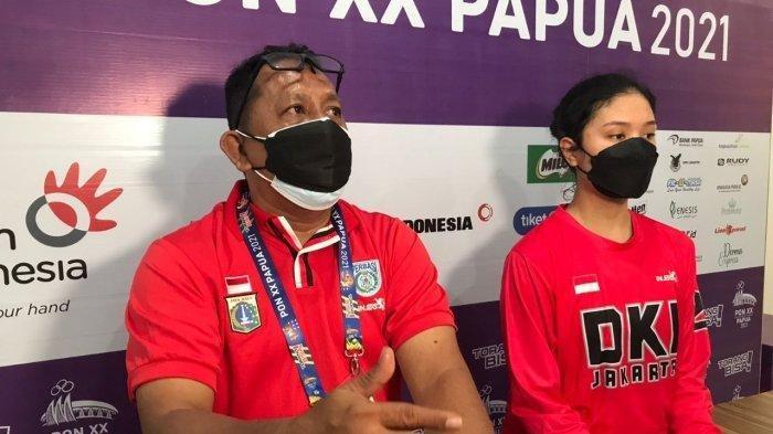 Pelatih Tim DKI Jakarta, Andrew Tambunan.