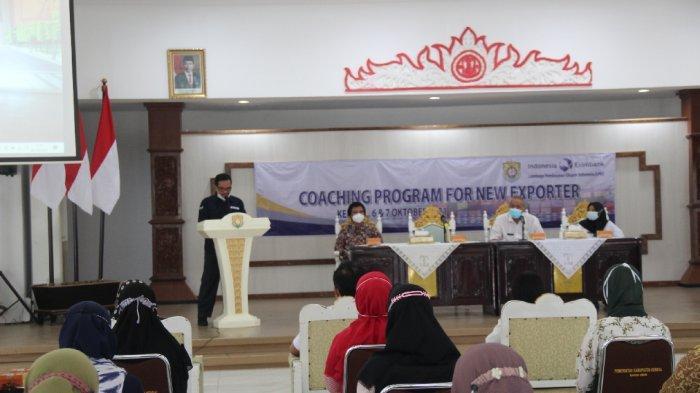 Para Pelaku UMKM Ikuti Pelatihan Ekspor yang Digelar Pemkab Kendal dan LPEI