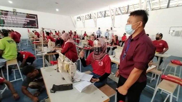 Rutan Solo Produksi Industri Garmen, Warga Lapas Dibekali Keterampilan Menjahit Biar Bisa Mandiri