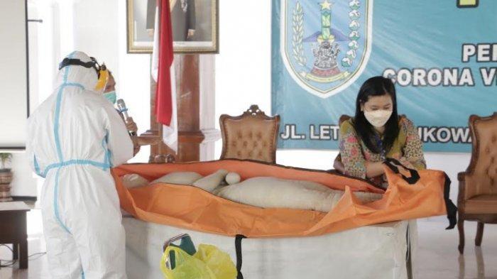 BERITA FOTO : Pelatihan Pemulasaran Jenazah Pasien Covid-19 di Salatiga