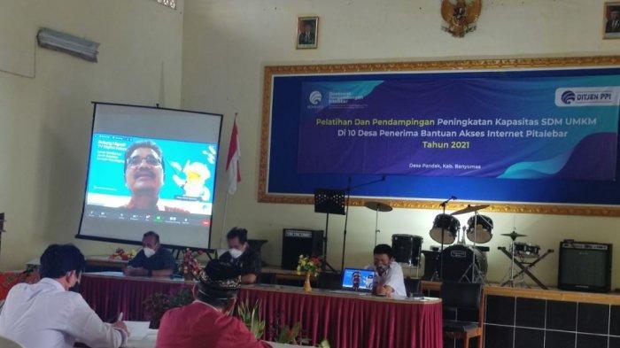 10 Desa Penerima Bantuan Akses Internet Pitalebar Dapat Pelatihan Peningkatan Kapasitas SDM