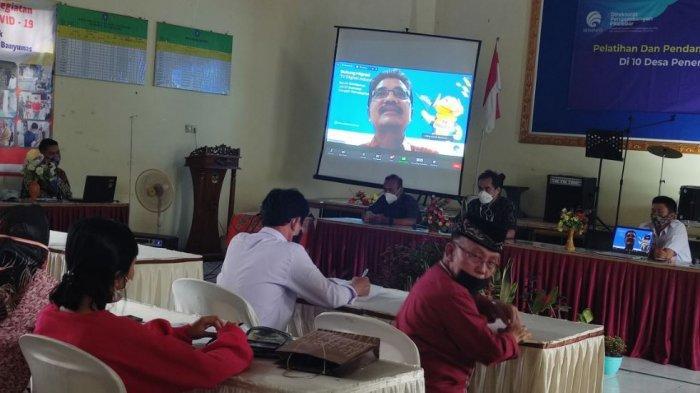 Pelatihan peningkatan kapasitas SDM bagi pelaku UMKM di Desa Pandak, Kecamatan Baturraden, Kabupaten Banyumas, pada Jumat (30/4/2021).