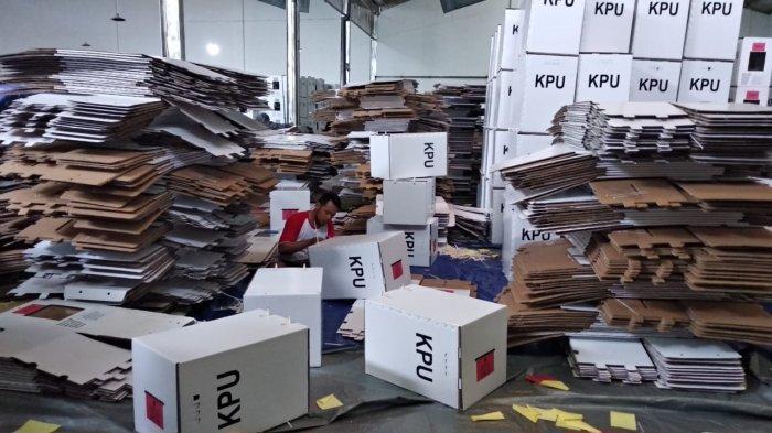 KPU Kabupaten Pekalongan Targetkan Pelipatan Kotak Suara Rampung Akhir Bulan Ini