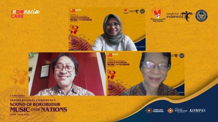 Gali Kekayaan Budaya Candi Borobudur, Kemenparekraf Gelar Konferensi Internasional