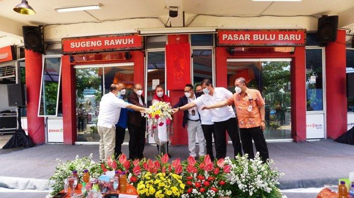 BRI Berdayakan Pasar Tradisional Bulu Semarang Menjadi Pasar Digital