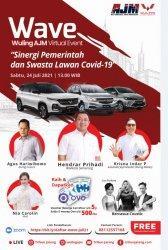 Wuling AJM Virtual Event Berhadiah Digelar Sabtu, Bahas Sinergi Pemerintah-Swasta Lawan Covid-19