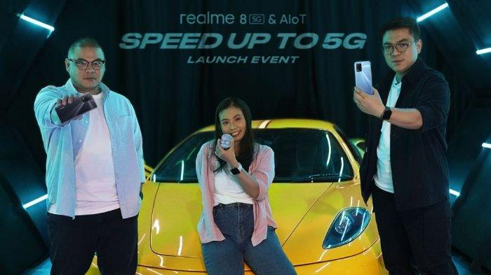 Realme Luncurkan Realme 8 5G, Sasar Pengguna Muda