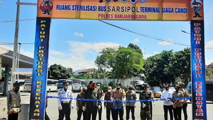 Polres Banjarnegara Launching Terminal Siaga Candi, Tiap Penumpang Bus akan Diperiksa