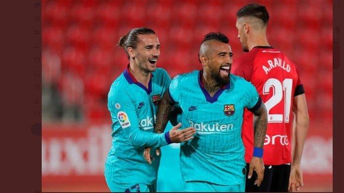 Hasil Liga Spanyol Tadi Malam:Lionel Messi Comeback, Barcelona Pesta Gol di KandangMallorca