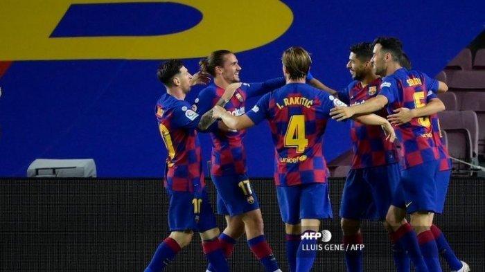 Update Klasemen La Liga Spanyol, Barcelona Meroket Setelah Kalahkan Villareal