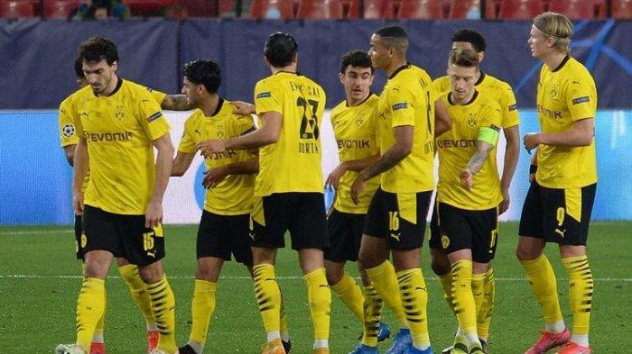 Hasil Sevilla vs Dortmund, Haaland Cetak Rekol 10 Gol Liga Champions Dalam 7 Pertandingan