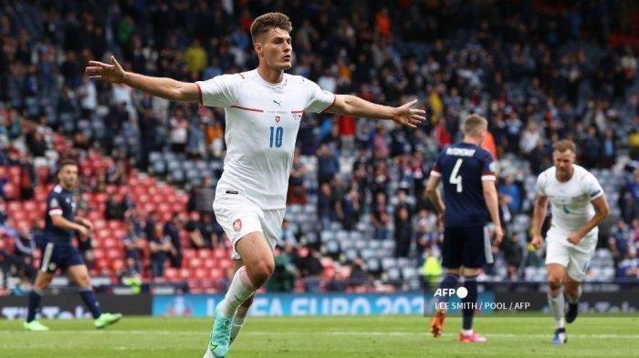 Hasil Euro 2020 Skotlandia Vs Republik Ceko, Patrik Schick Cetak Gol Cantik, Skotlandia Tak Berkutik