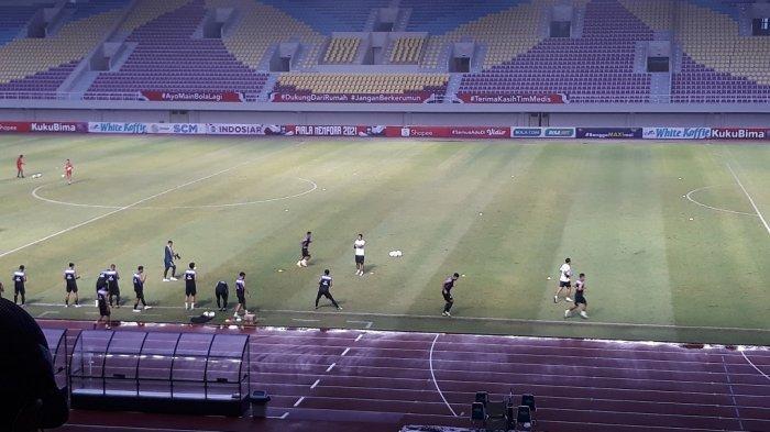 Selama Liga 2Berlangsung, Polisi Sterilkan Stadion Manahan Solo dari Pengunjung