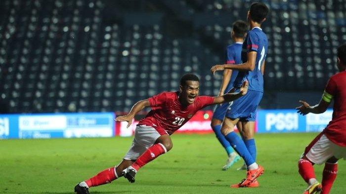 Hasil Babak II Skor 2-0 Indonesia Vs Taiwan, Ricky Kambuaya Lepaskan Tendangan Gledek
