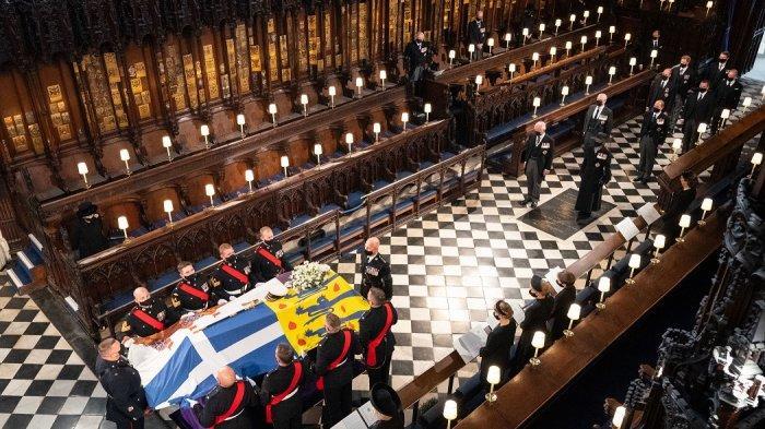 Jasad Pangeran Philip Bersemayam di 'Ruang Besi' Makam Raja-raja Ingris
