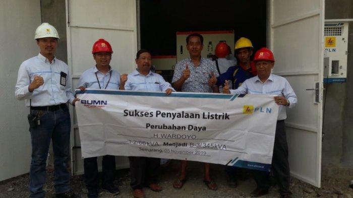 PLN UP3 Semarang Layani Penambahan Daya Industri Kayu di Weleri