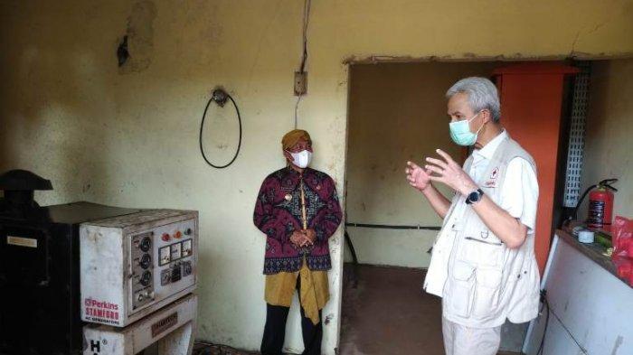 Cek Pembangkit Listrik Pulau Parang Jepara, Gubernur Ganjar Temukan Ratusan Baterai Mati