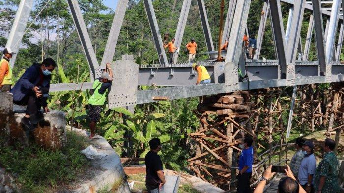 Persingkat Jarak ke Dieng, Pembangunan Jembatan Plipiran Madukara Banjarnegara Dikebut