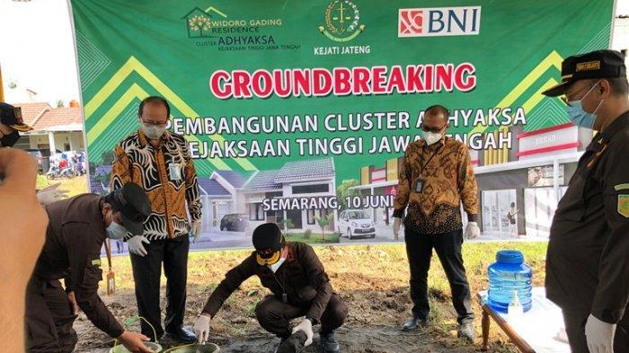 Kejati Jateng dan Bank BNI Bangun 97 Unit Rumah di Semarang untuk Pegawai Kejaksaan