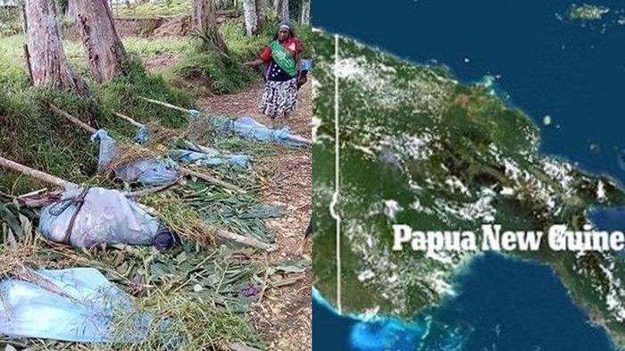 Pembantaian Sadis di Papua Nugini: Tubuh Terpotong-Potong, Rumah Terbakar