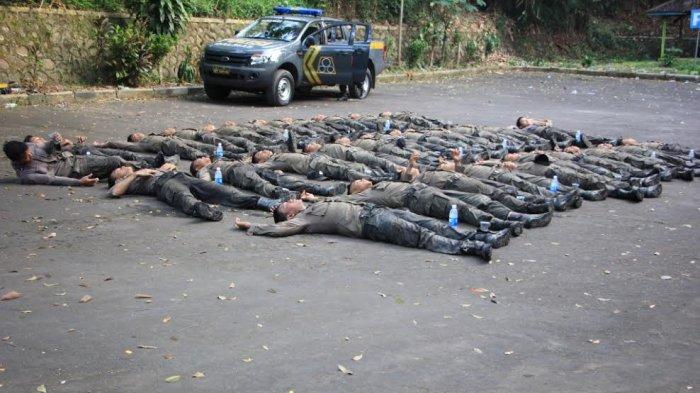 TERNYATA Begini Upacara Pembaretan Bintara Remaja di Polres Semarang