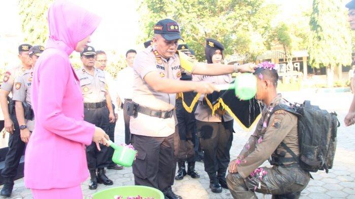 Sebelum Dapat Baret, 10 Bintara Remaja Polres Pati Digembleng Agar Siap Jadi Garda Terdepan