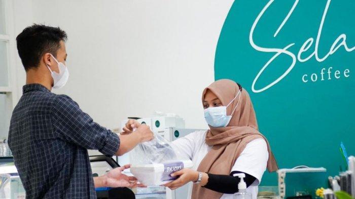 Dukung Pencegahan Covid-19, Belasan Coffee Shop di Pati Kampanyekan Gerakan #BungkusWae
