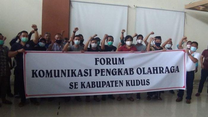 36 Pengkab Sepakat Desak Ketua KONI Kudus Mundur Dalam Musorkablub