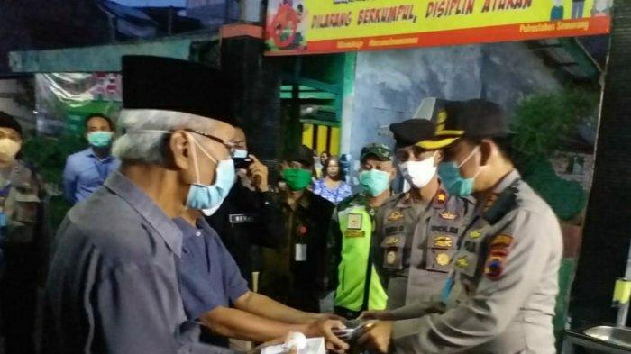 Ditunjuk Bentuk Kampung Siaga, Kapolsek Semarang Tengah Gandeng Warga Cegah Penyebaran Virus Corona